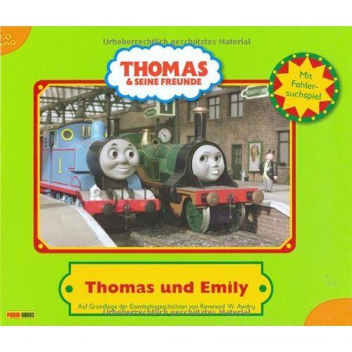 Wilbert Awdry - Thomas und seine Freunde. Geschichtenbuch 22: Thomas und Emily: Thomas und Emily. Auf Grundlage der Eisenbahngeschichten von Reverend W. Awdry: BD 22 - Preis vom 24.01.2021 06:07:55 h