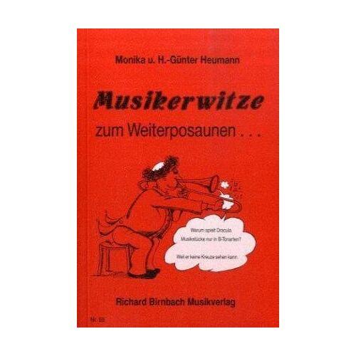 Hans-Günter Heumann - Musikerwitze zum Weiterposaunen ... - Preis vom 21.10.2020 04:49:09 h