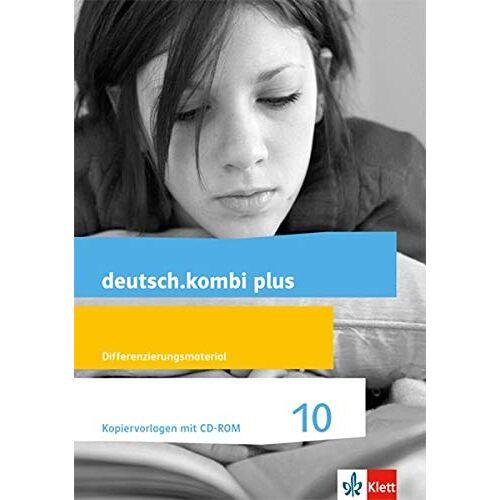 Sabine Utheß - deutsch.kombi plus 10. Differenzierende Allgemeine Ausgabe: Kopiervorlagen mit CD-ROM. Differenzierungsmaterial Klasse 10 (deutsch.kombi plus. Differenzierende Ausgabe ab 2015) - Preis vom 17.04.2021 04:51:59 h