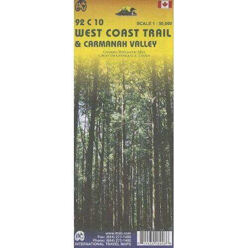 Itmb Canada - West Coast Trail: Canada - Preis vom 25.01.2021 05:57:21 h