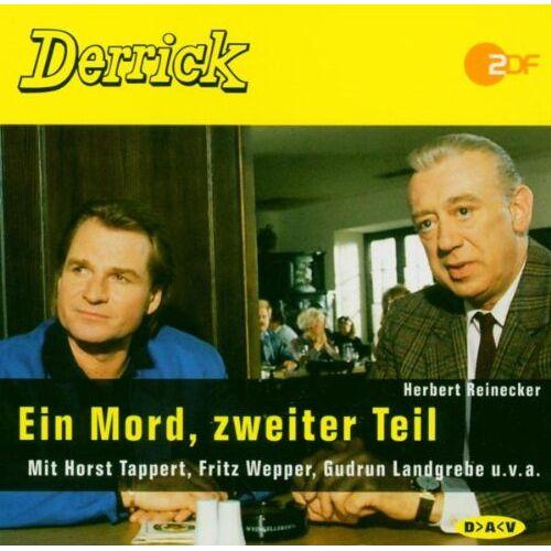 Herbert Reinecker - Derrick. Ein Mord, zweiter Teil. CD. - Preis vom 18.04.2021 04:52:10 h