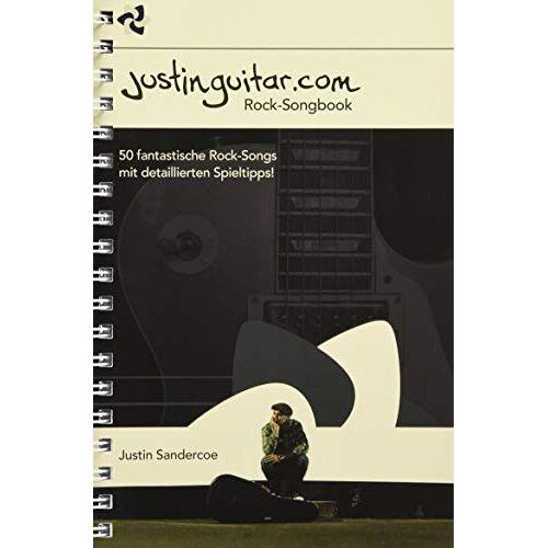 - Justinguitar.com - Das Rock-Songbook: Noten, Sammelband für Gitarre - Preis vom 25.02.2020 06:03:23 h