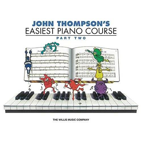 John Thompson - John Thompson's Easiest Piano Course - Part 2 - Book Only: Part 2 - Book Only - Preis vom 25.02.2020 06:03:23 h
