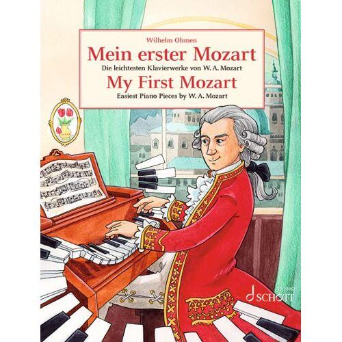 Wilhelm Ohmen - Mein erster Mozart: Die leichtesten Klavierwerke von W.A. Mozart. Klavier. (Easy Composer Series) - Preis vom 08.05.2021 04:52:27 h