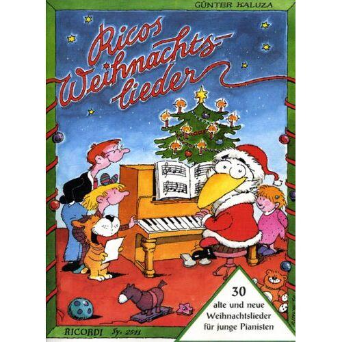 - Ricos Weihnachtslieder. Klavier - Preis vom 24.02.2021 06:00:20 h