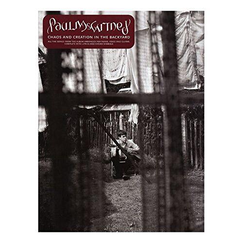 - Paul McCartney: Chaos And Creation In The Backyard. Für Klavier, Gesang & Gitarre(mit Griffbildern) - Preis vom 20.10.2020 04:55:35 h