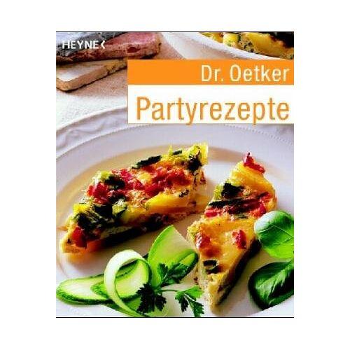 Oetker - Partyrezepte. - Preis vom 12.05.2021 04:50:50 h