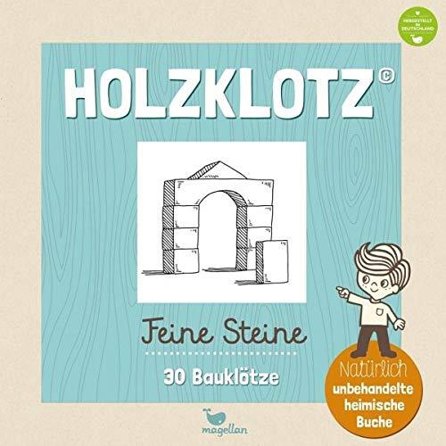 - Holzklotz - Feine Steine - 30 Bauklötze - Preis vom 15.08.2019 05:57:41 h