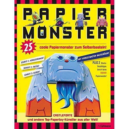 Brian Castelforte - Papiermonster: 25 coole Papiermonster zum Selberbasteln! - Preis vom 14.01.2021 05:56:14 h