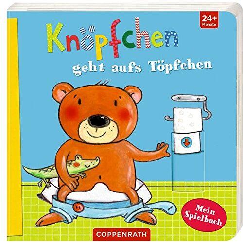 Katja Richert - Knöpfchen geht aufs Töpfchen: Mein Spielbuch - Preis vom 05.09.2020 04:49:05 h