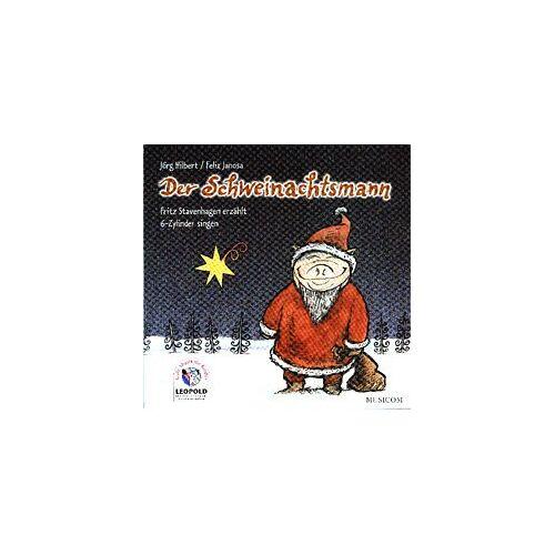 Jörg Hilbert - Der Schweinachtsmann, 1 Audio-CD - Preis vom 23.02.2020 05:59:53 h
