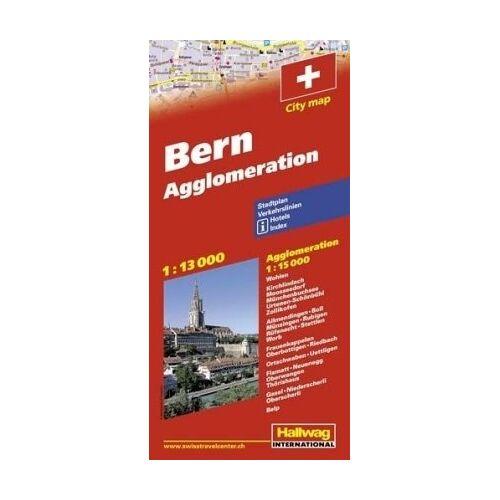 Hallwag - Bern 1 : 13 000 & Agglomeration 1 : 15 000: Stadtplan. Verkehrslinien. Hotels. Index. (City Map) - Preis vom 05.05.2021 04:54:13 h