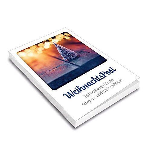 - WeihnachtsPost - Postkartenset: 18 Postkarten für die Advents- und Weihnachtszeit. - Preis vom 21.11.2019 05:59:20 h