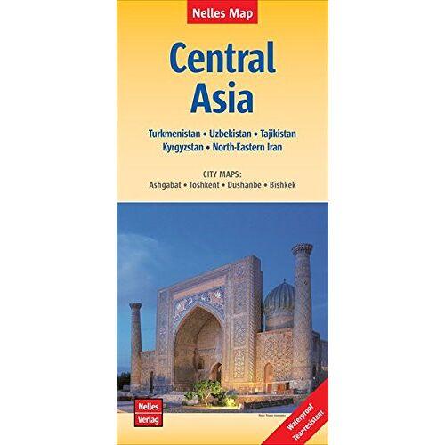 Nelles Verlag - Central Asia: Zentralasien, Asie centrale, Asia Central; 1:1.750.000 (Nelles Map) - Preis vom 06.09.2020 04:54:28 h