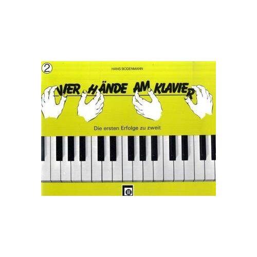Hans Bodenmann - Vier Hände am Klavier Bd.2 - Preis vom 21.10.2020 04:49:09 h