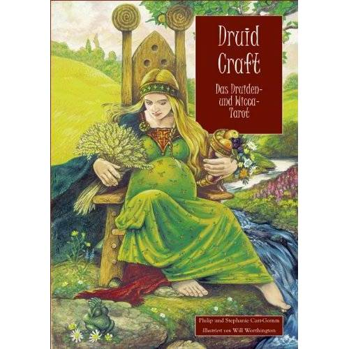Philip Carr-Gomm - DruidCraft: Das Druiden- und Wicca-Tarot - Preis vom 04.09.2020 04:54:27 h