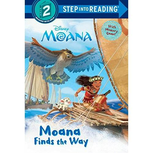 Disney Moana Finds the Way (Disney Moana) (Step into Reading) - Preis vom 22.01.2021 05:57:24 h