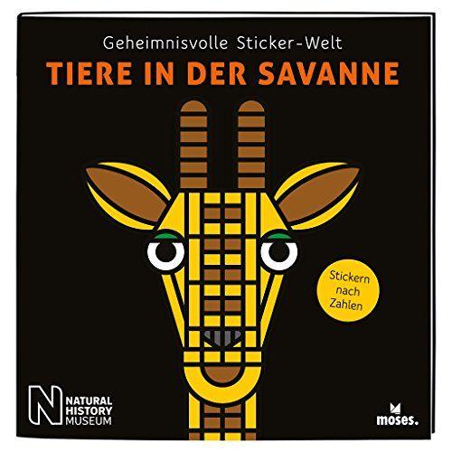 Kessel, Carola von - Geheimnisvolle Sticker-Welt: Tiere in der Savanne   Stickern nach Zahlen   Ab 6 Jahren (Geheimnisvolle Sticker-Welten / Stickern nach Zahlen) - Preis vom 20.10.2020 04:55:35 h