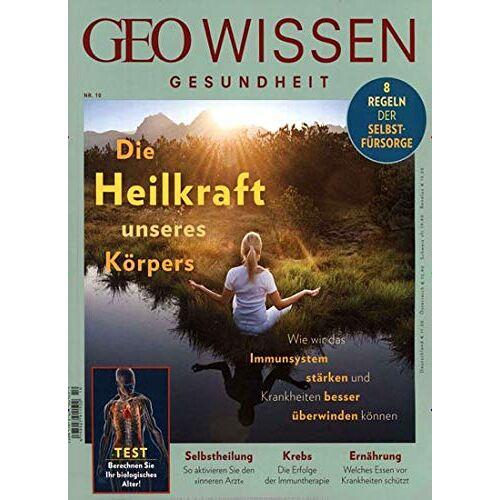 GEO Wissen Gesundheit - GEO Wissen Gesundheit 10/2019 - Preis vom 22.01.2021 05:57:24 h