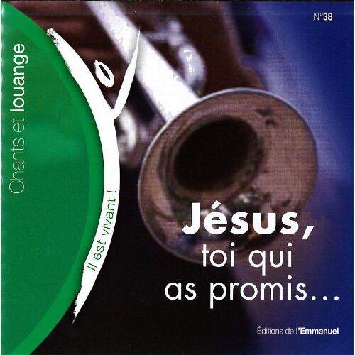 Chants Il Est Vivant - Il Est Vivant - CD 38 - Jesus, Toi Qui As Promis - Preis vom 16.05.2021 04:43:40 h