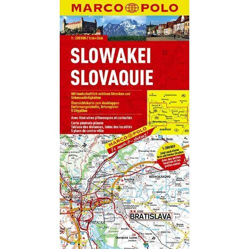 - MARCO POLO Karte Slowakei (Marco Polo Maps) - Preis vom 18.04.2021 04:52:10 h