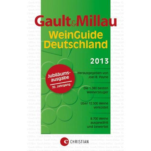 Verlagshaus - Gault&Millau WeinGuide Deutschland 2013 - Der Weinführer: 8.700 ausgewählte und bewertete Weine sowie 1.080 der besten Winzer und Weingüter: Der Weinführer für Genießer - Preis vom 05.03.2021 05:56:49 h