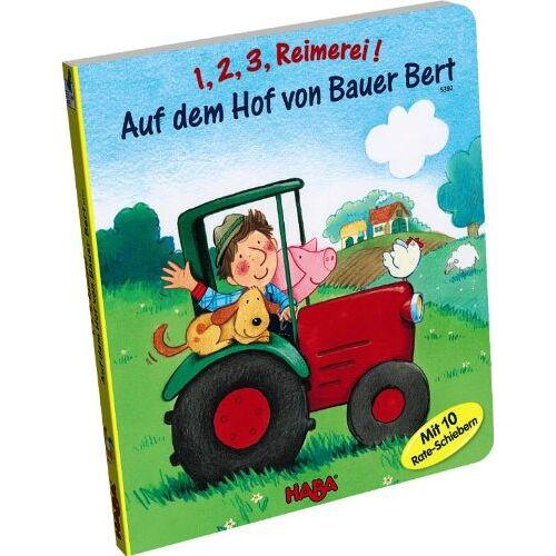 Pille Hillebrand - 1,2,3 Reimerei! Auf dem Hof von Bauer Bert: ab 2 1/2 Jahren - Preis vom 20.10.2020 04:55:35 h