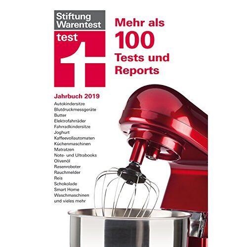 Stiftung Warentest - test Jahrbuch 2019: Mehr als 100 Tests und Reports - Preis vom 04.10.2020 04:46:22 h