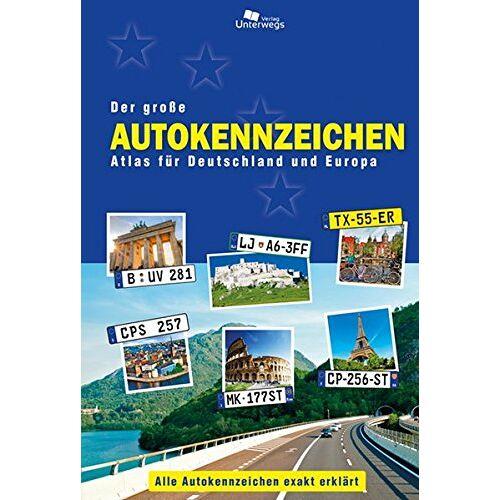 Manfred Klemann - Der große Autokennzeichen Atlas für Deutschland und Europa: Alle Autokennzeichen exakt erklärt - Preis vom 22.01.2020 06:01:29 h