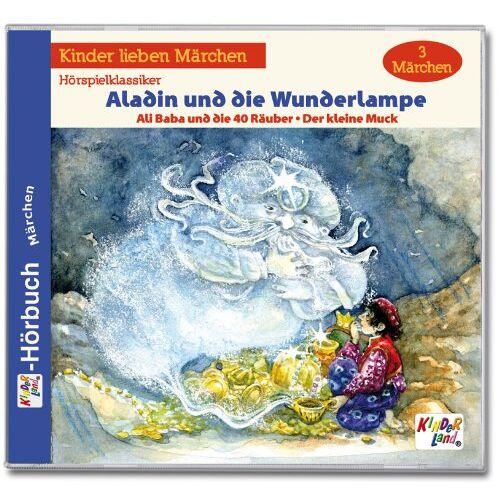 Kinderland - Aladin und die Wunderlampe - Preis vom 11.04.2021 04:47:53 h