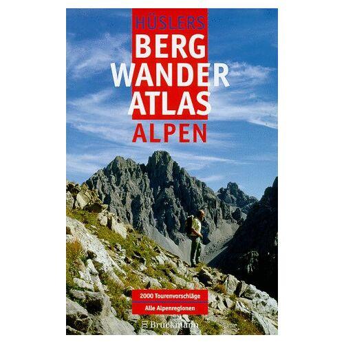 Hüsler, Eugen E. - Hüslers Bergwanderatlas Alpen - Preis vom 08.05.2021 04:52:27 h