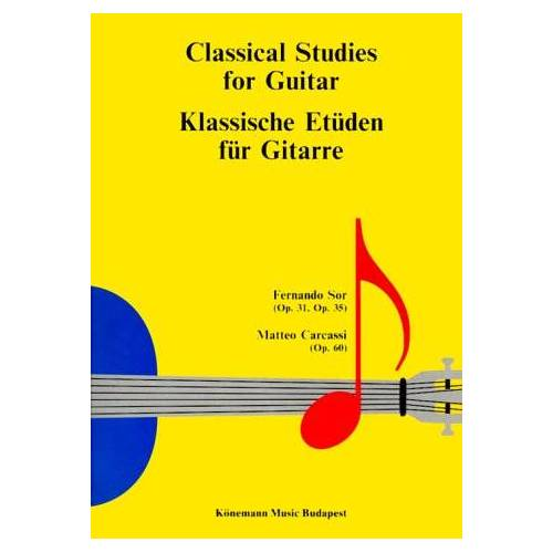 Fernando Sor - Klassische Etüden für Gitarre (Partitions Solo) - Preis vom 09.05.2021 04:52:39 h