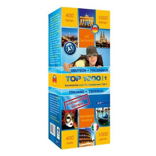 dnf-Verlag GmbH - Top 1000 Teil 1: Deutsch-Italienisch /Italienisch-Deutsch - Preis vom 05.05.2021 04:54:13 h