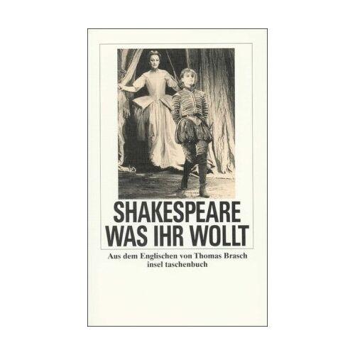 Shakespeare Was ihr wollt (insel taschenbuch) - Preis vom 08.05.2021 04:52:27 h