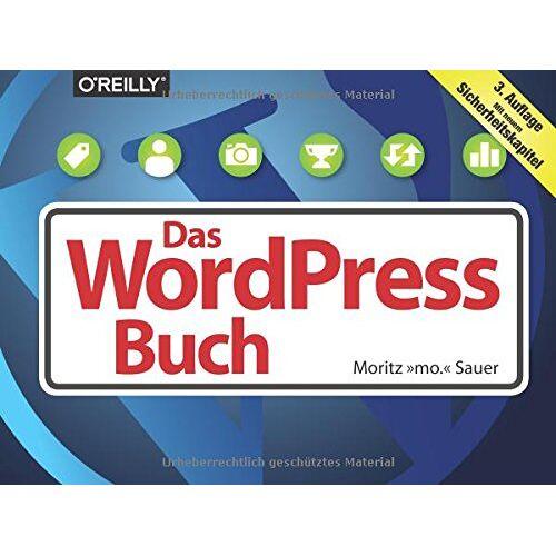 Moritz Sauer - Das WordPress-Buch - Preis vom 21.10.2020 04:49:09 h