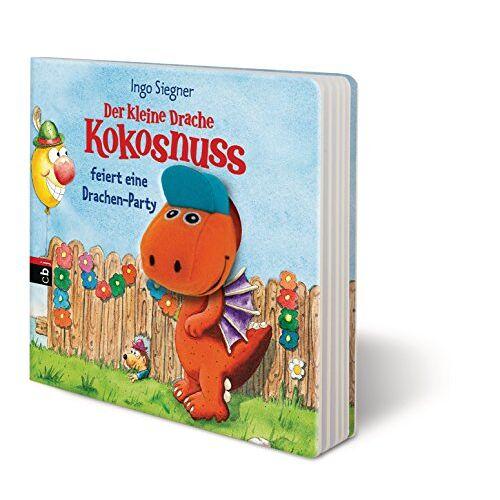 Ingo Siegner - Der kleine Drache Kokosnuss feiert eine Drachen-Party: Pappbilderbuch (Bilderbücher, Band 2) - Preis vom 06.05.2021 04:54:26 h