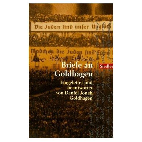 Daniel J. Goldhagen - Briefe an Goldhagen - Preis vom 22.01.2021 05:57:24 h