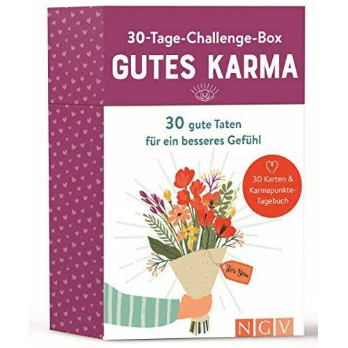Sina Weneit - 30-Tage-Challenge-Box Gutes Karma: 30 gute Taten für ein besseres Gefühl - Preis vom 20.10.2020 04:55:35 h