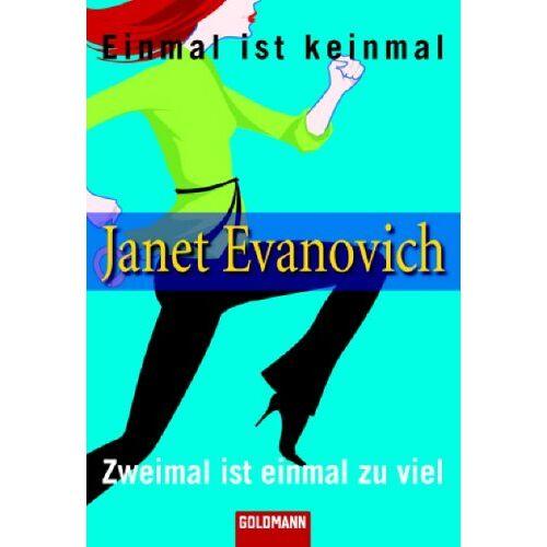 Janet Evanovich - Einmal ist keinmal. Zweimal ist einmal zu viel. Zwei Romane in einem Band - Preis vom 06.05.2021 04:54:26 h