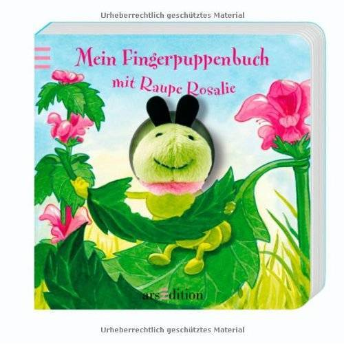 Andrea Gerlich - Mein Fingerpuppenbuch mit Raupe Rosalie (Fingerpuppenbücher) - Preis vom 18.04.2021 04:52:10 h