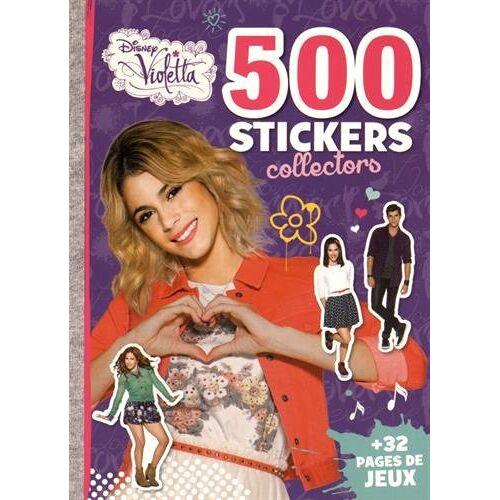 Disney 500 stickers collectors Violetta : + 32 pages de jeux - Preis vom 25.01.2021 05:57:21 h