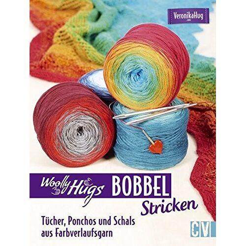 Veronika Hug - Woolly Hugs Bobbel stricken: Tücher, Ponchos und Schals aus Farbverlaufsgarn - Preis vom 18.04.2021 04:52:10 h