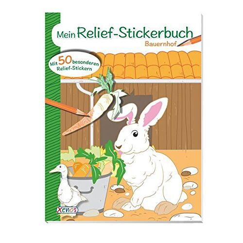 - Mein Relief-Stickerbuch: Bauernhof - Preis vom 21.10.2020 04:49:09 h