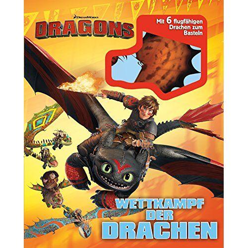 Elizabeh Bennett - Dragons. Wettkampf der Drachen: Mit 6 flugfähigen Drachen zum Basteln - Preis vom 05.09.2020 04:49:05 h