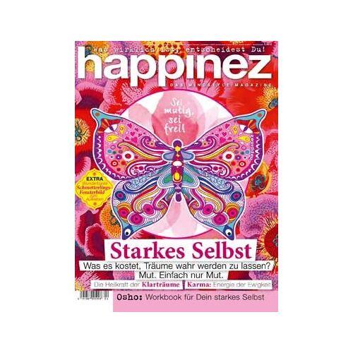 Happinez - Happinez 4/2019 Starkes Selbst - Preis vom 04.09.2020 04:54:27 h