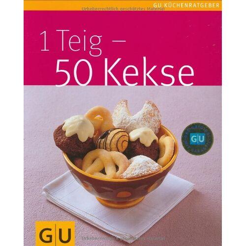 Birgit Rademacker - 1 Teig - 50 Kekse (GU Küchenratgeber Relaunch 2006) - Preis vom 06.05.2021 04:54:26 h
