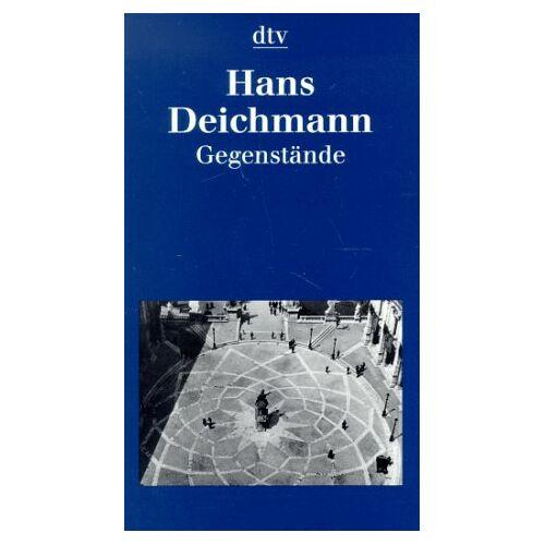Hans Deichmann - Gegenstände. - Preis vom 07.05.2021 04:52:30 h