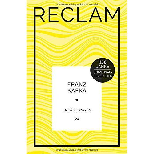Franz Kafka - Erzählungen: Jubiläumsausgabe (Jubiläumsausgabe UB) - Preis vom 25.01.2020 05:58:48 h