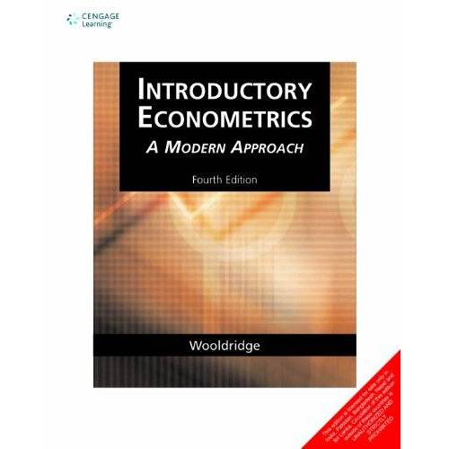 Wooldridge, Jeffrey M. - Introductory Econometrics a Modern Approach - Preis vom 20.10.2020 04:55:35 h