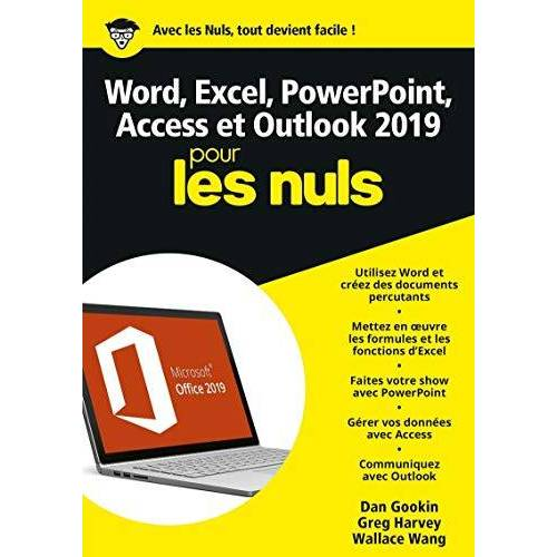 - Word, Excel, Powerpoint, Access & Outlook pour les nuls - Preis vom 23.01.2021 06:00:26 h